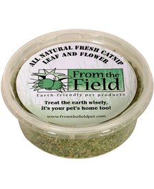 From the Field Leaf & Flower Catnip 1 oz Tub