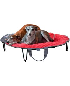 Chili Red TaGo Travel Dog Bed