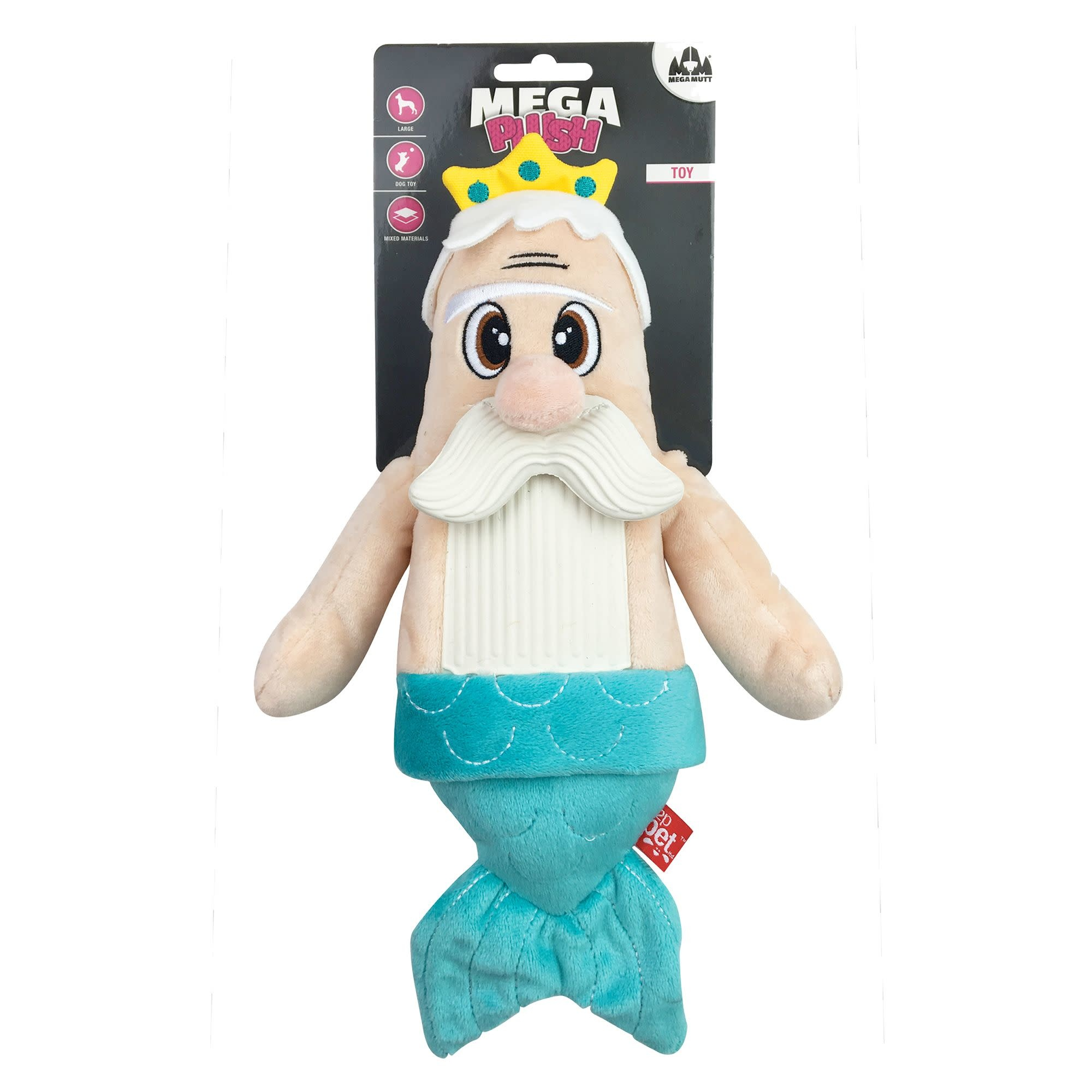 Bearded Buddies Plush Mermaid