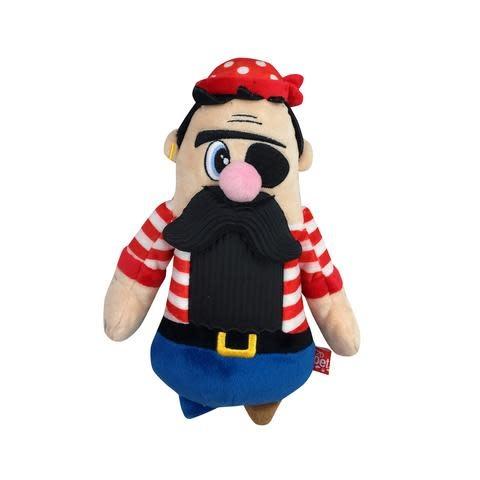 R2P Pet Bearded Buddies Plush Pirate
