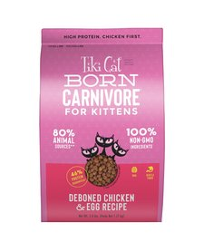 Tiki Born Carnivore Kitten 2.8 lb