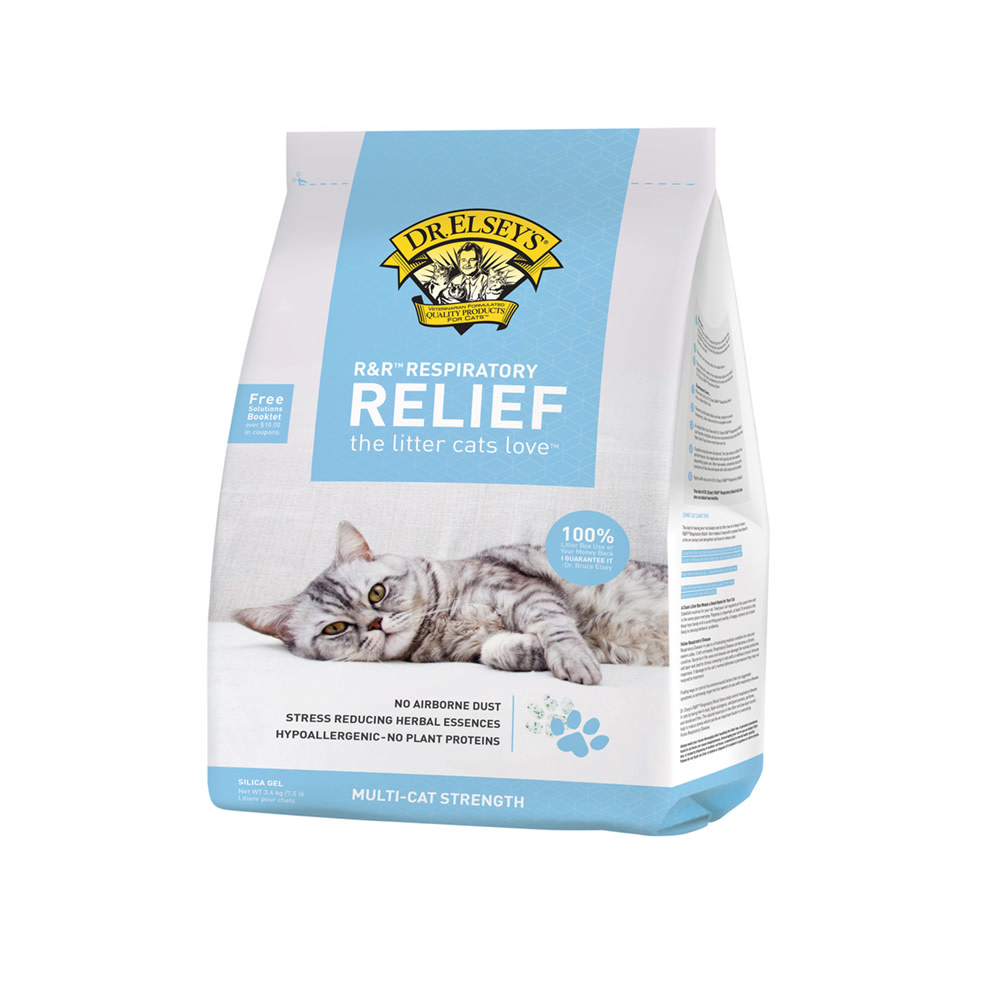 Dr. Elsey's Precious Cat Dr. Elsey's Resp Relief Silica Litter 7.5lb