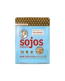 Sojos Complete GF Puppy Turkey 4 lb