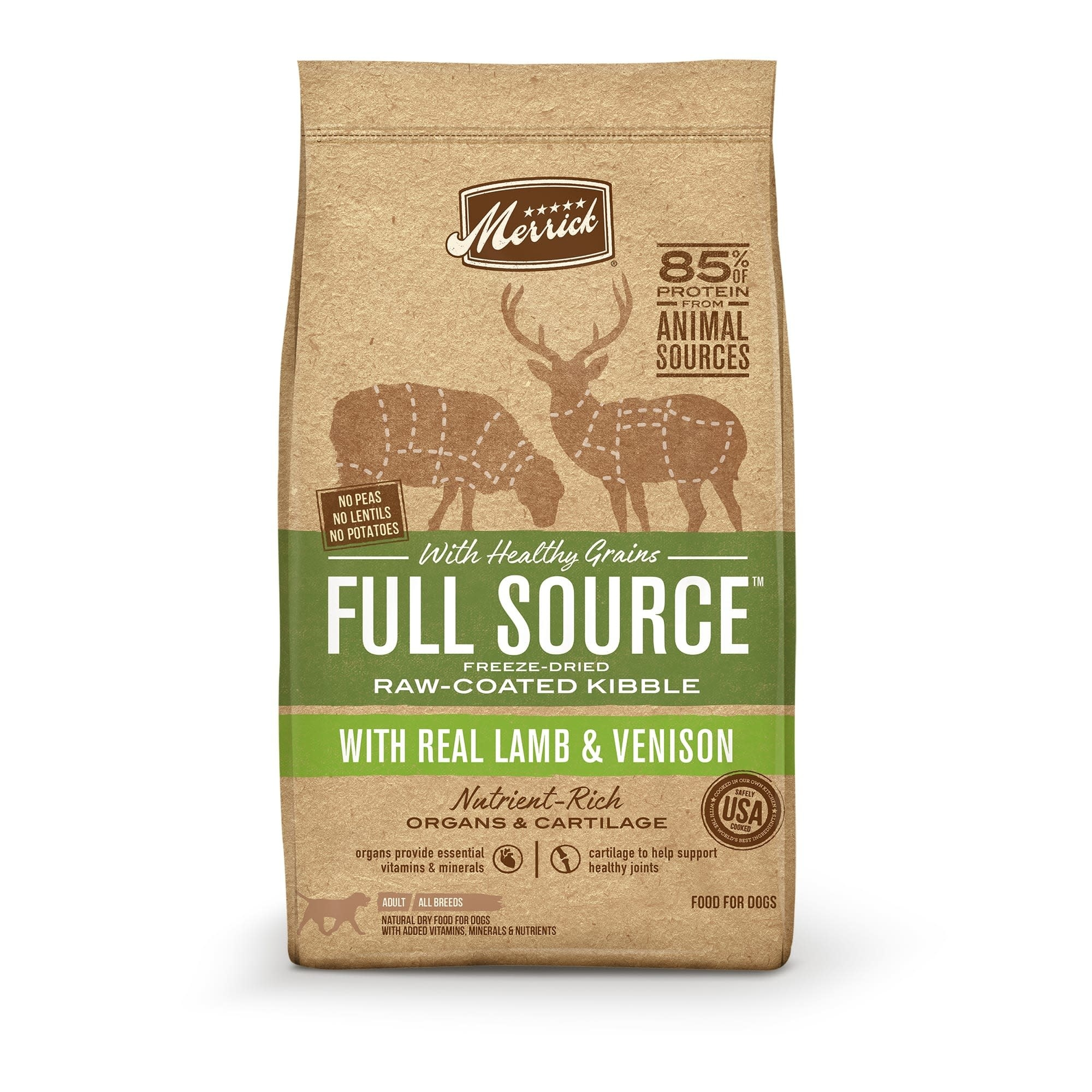Merrick Full Source Lamb & Venison 10 lb