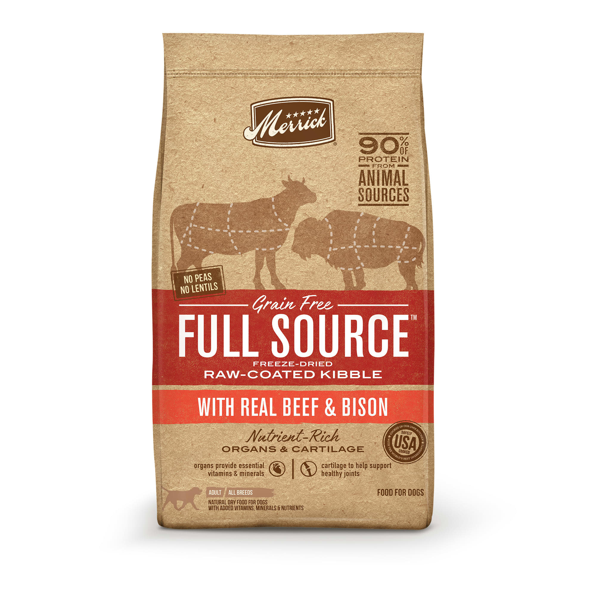 Merrick Full Source Beef & Bison 10 lb
