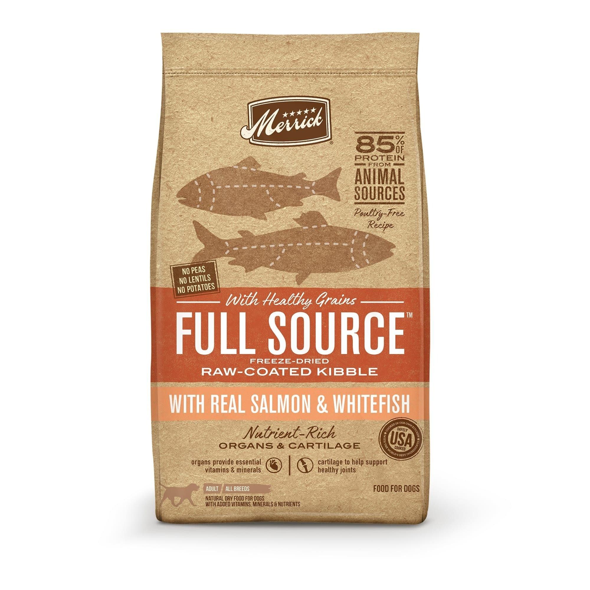 Merrick Full Source Salmon & Whitefish 20 lb