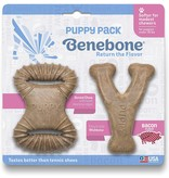 Benebone Benebone Bacon Puppy 2 Pack