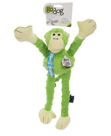 GoDog Crazy Tugs Green Monkey