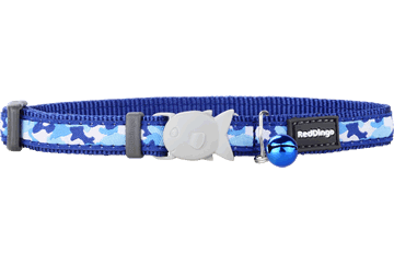 "RedDingo RedDingo Navy Camoflage Collar - 8""-13"""