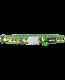 "RedDingo Green Camoflage Collar - 8""-13"""