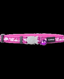 "RedDingo Pink Camoflage Collar - 8""-13"""