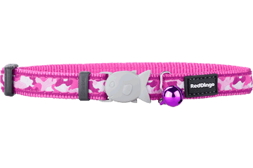 "RedDingo RedDingo Pink Camoflage Collar - 8""-13"""