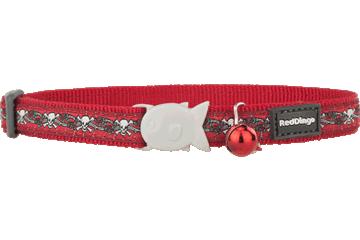 "RedDingo RedDingo Skull & Roses Collar - 8""-13"""