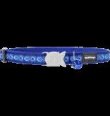 "RedDingo RedDingo Dark Blue Cosmos Collar - 8""-13"""