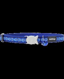 "RedDingo Dark Blue Cosmos Collar - 8""-13"""