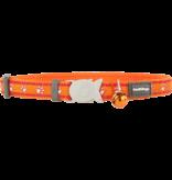"RedDingo RedDingo Orange Desert Paws Collar - 8""-13"""