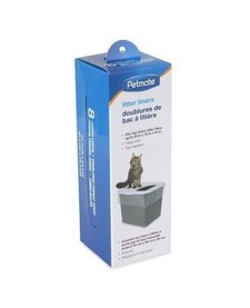 Petmate Litter Pan Liners Top Entry 8 ct