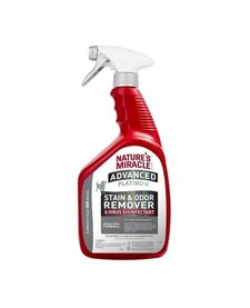 Nature's Miracle Advanced Platinum Stain & Odor Remover Virus Disinfectant 32oz