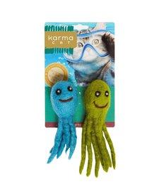Karma Cat - Felt Octopus 2-pack