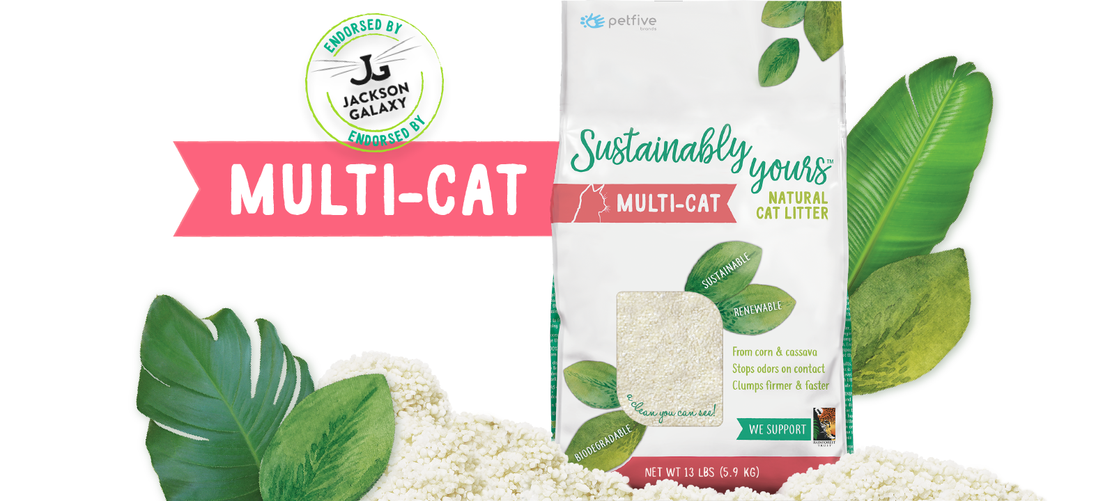 Sustainably Yours Sustainably Yours Plus Litter 26lb