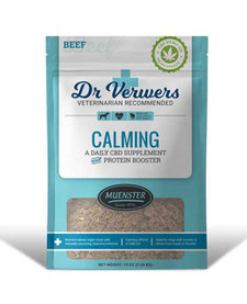 Dr. Verwers Calming CBD Supplement Protein Booster 10 oz