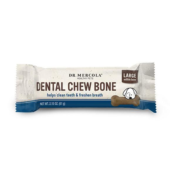 Dr. Mercola Dental Chew Bone LG