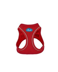 Plush Harness Red MD