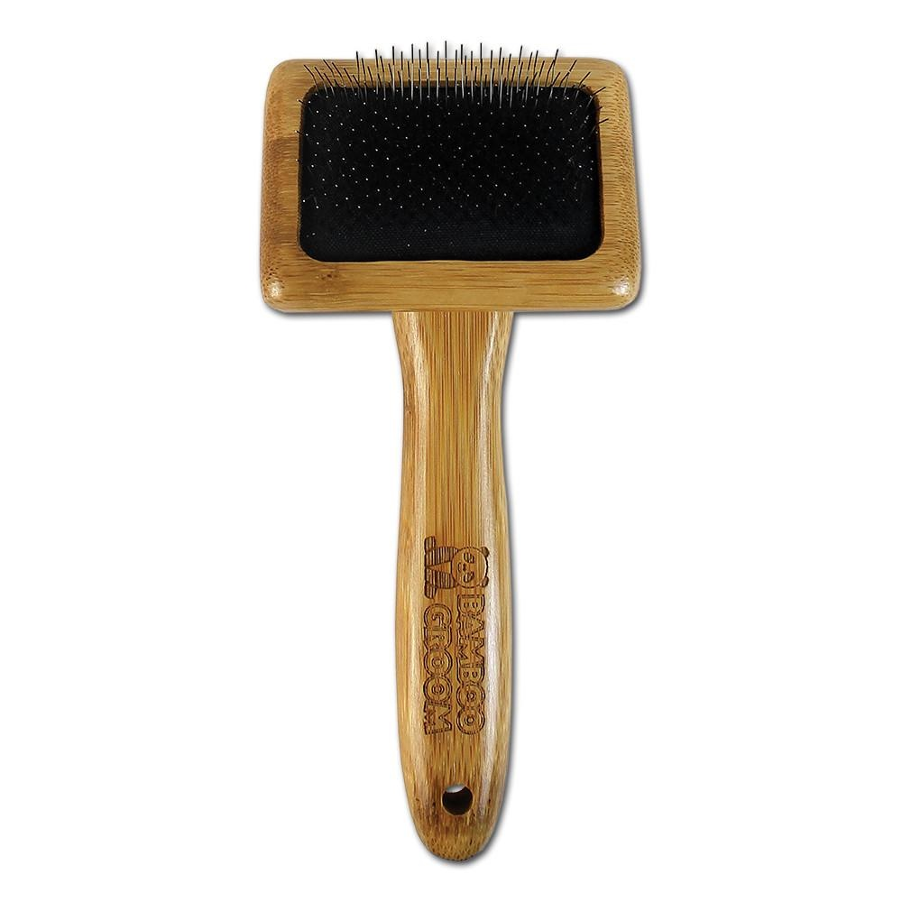 Bamboo Slicker Brush Small