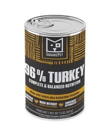 SquarePet 96% Turkey 13 oz