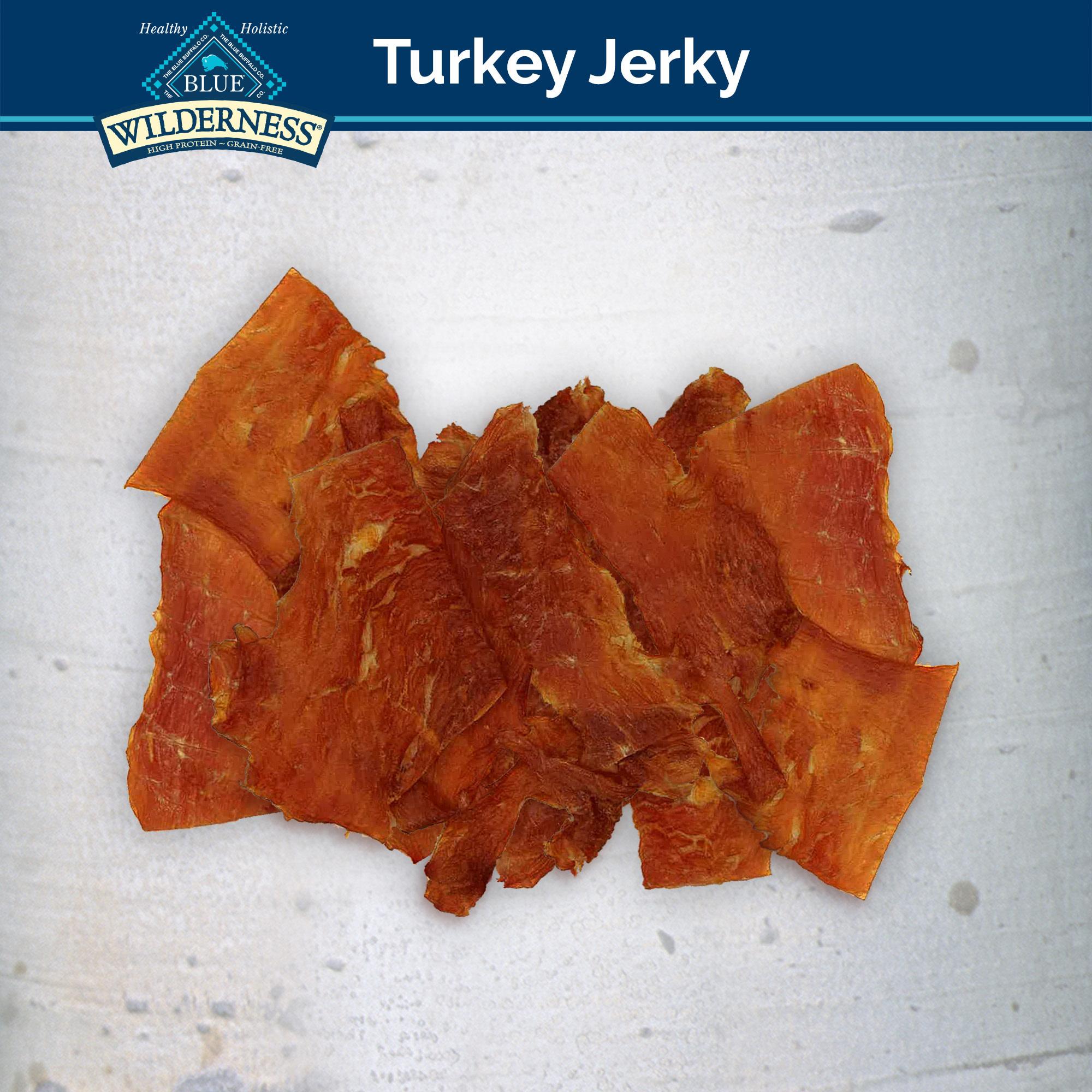 Blue Buffalo Blue Wilderness Turkey Jerky 3.25 oz