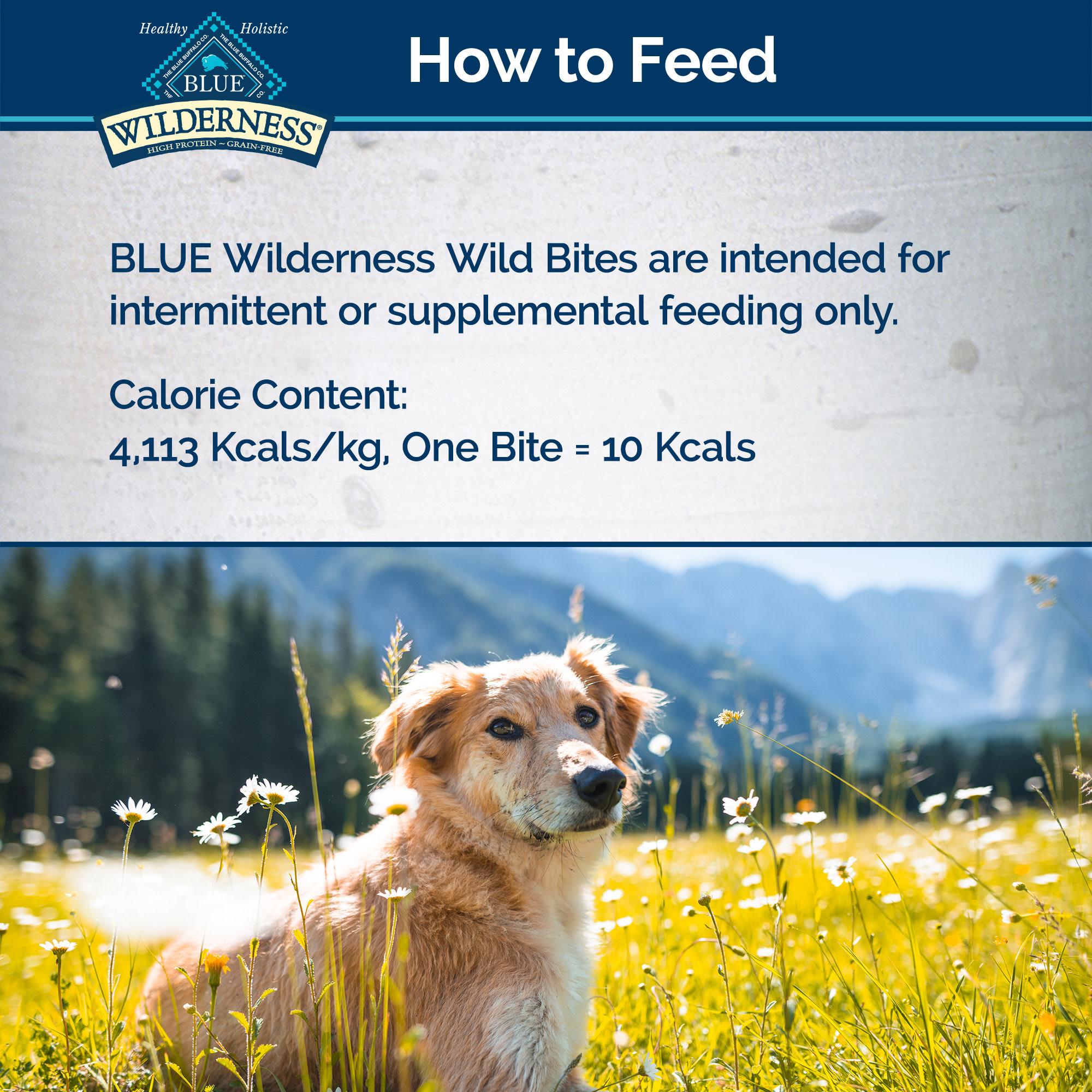 Blue Buffalo Blue Wilderness Wild Bites Chicken 4 oz