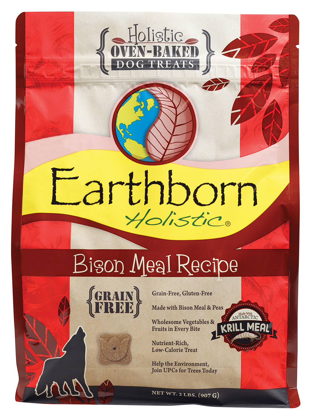 Earthborn Earthborn Bison GF Biscuits 2lb