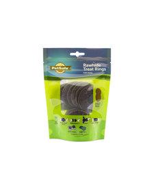PetSafe C Rawhide Rings Peanut Butter
