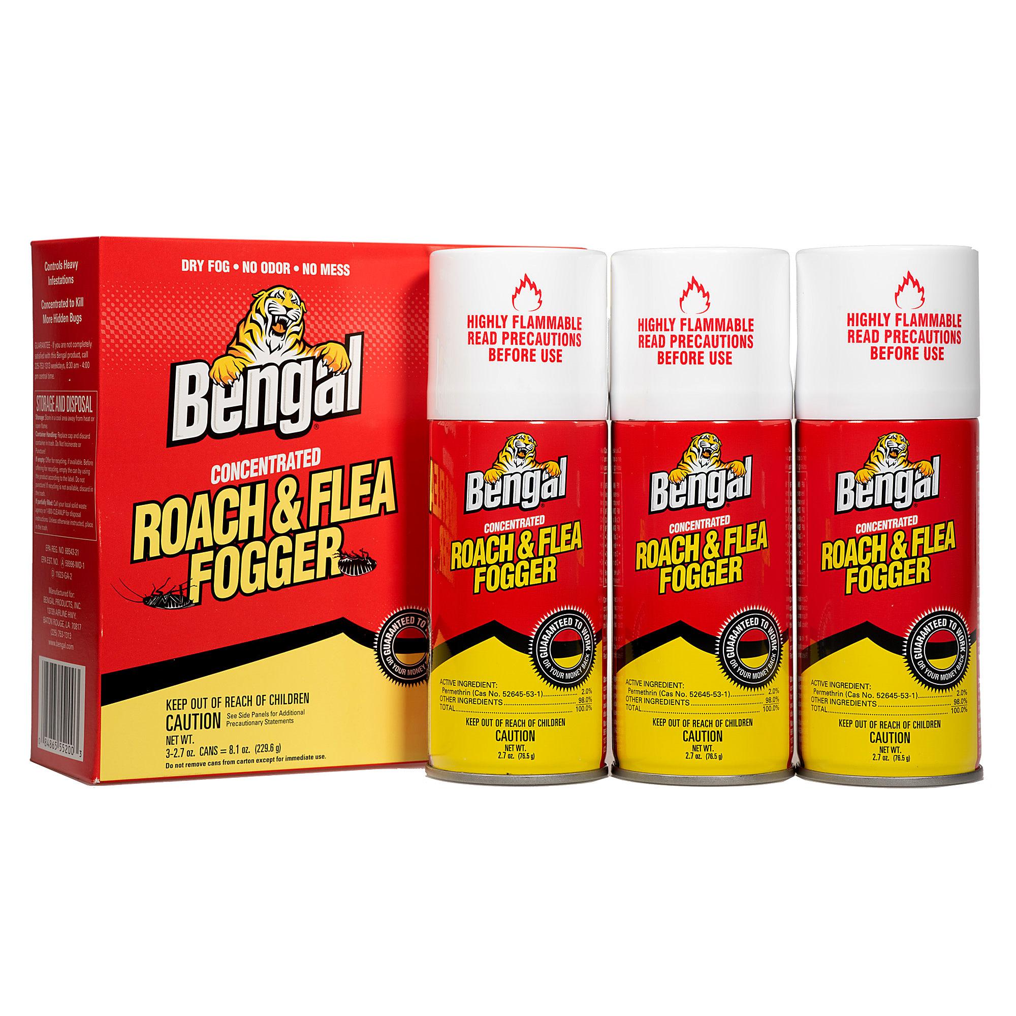 Bengal Bengal Roach & Flea Fogger