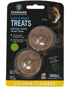 Starmark Lock & Block Treats Small