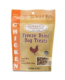 Muenster Freeze Dried Chicken Treats 5 oz