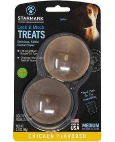 Starmark Lock & Block Treats Medium