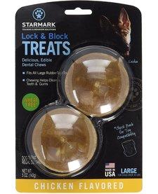 Starmark Lock & Block Treats Large