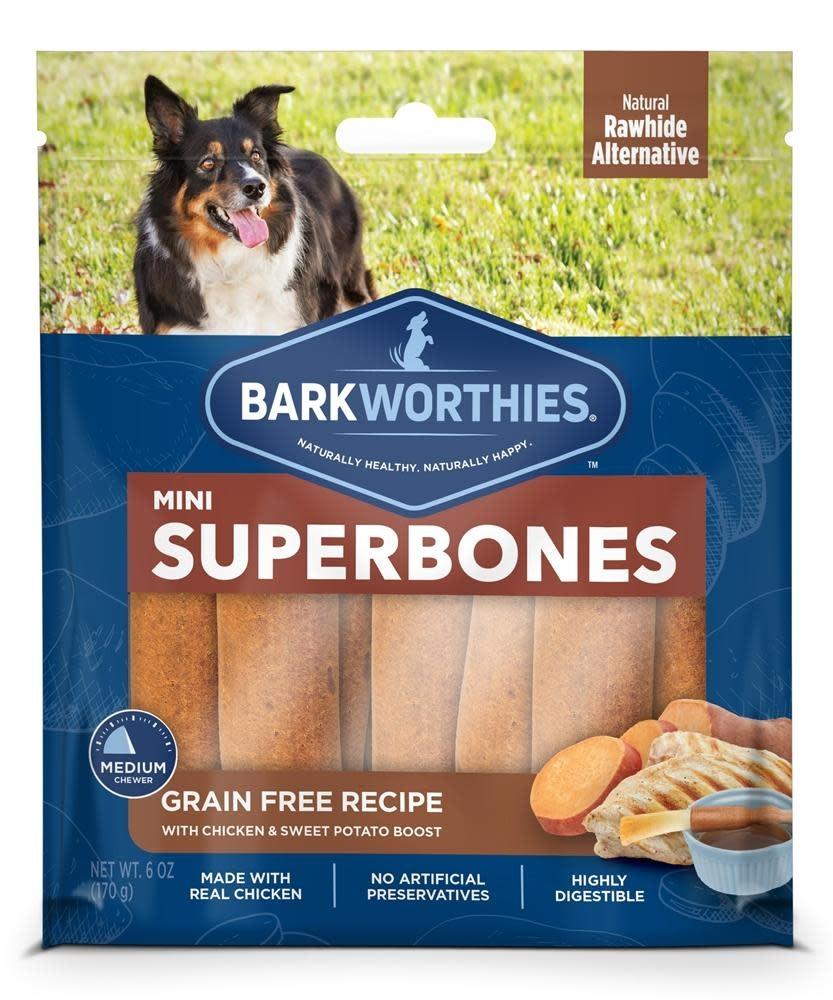 Barkworthie's BW Superbones Mini GF Chicken 12 ct
