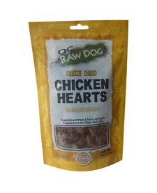 OC Raw Freeze Dried Chicken Hearts 4 oz