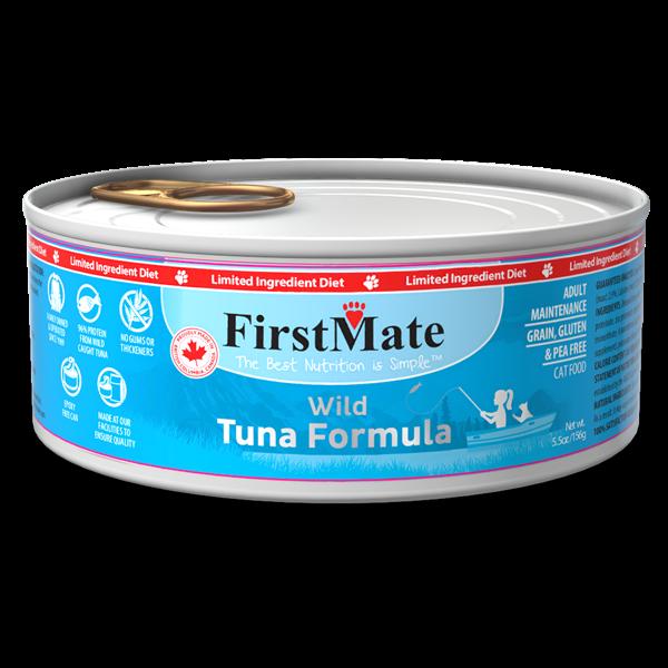 FirstMate First Mate Cat LID Wild Tuna 3.2 oz