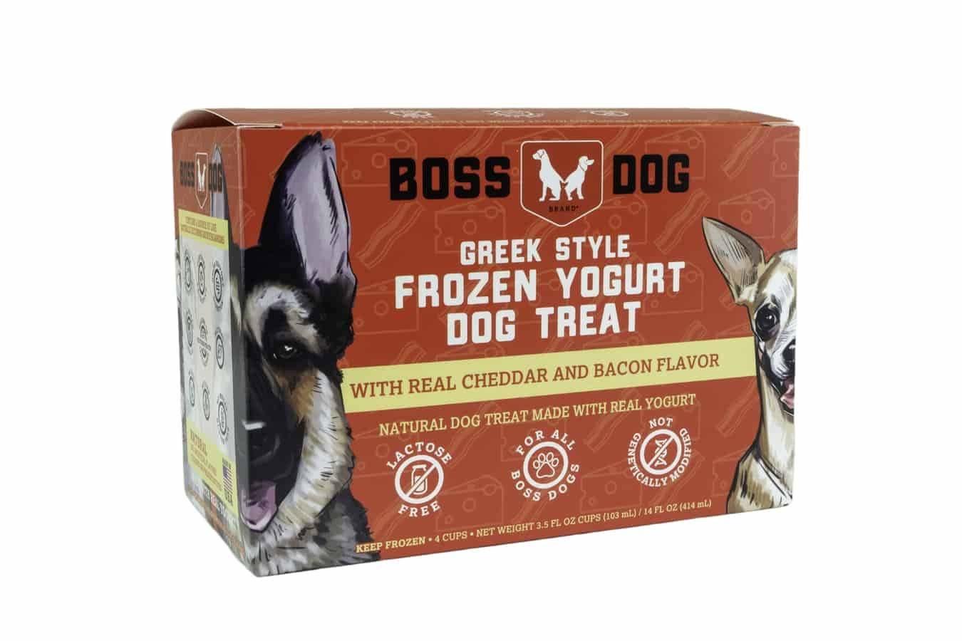Boss Dog Boss Dog Frozen Yogurt Bacon Cheddar Box