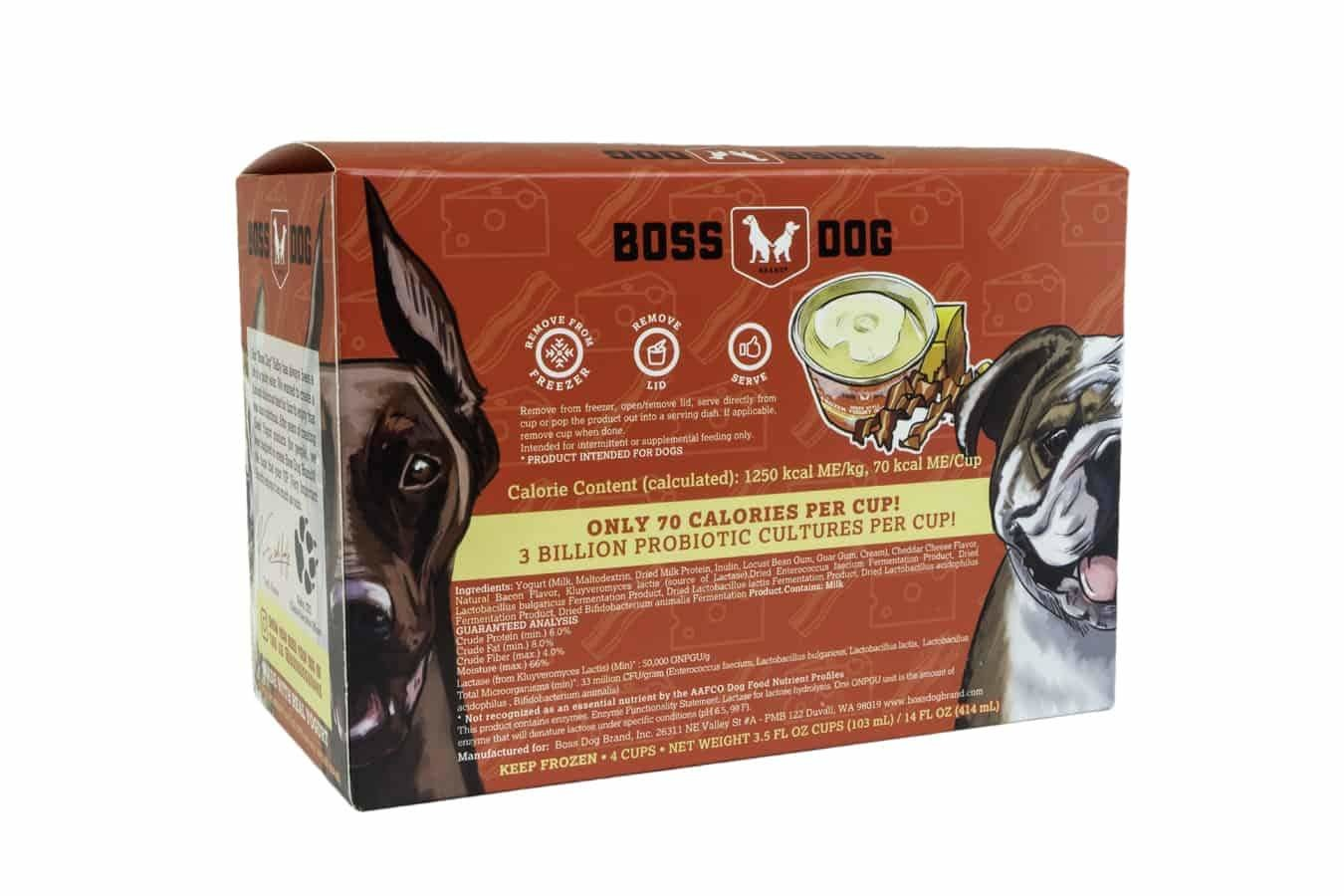 Boss Dog Boss Dog Frozen Yogurt Bacon Cheddar Box