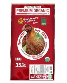 NWS Red Organic Layer Crumble 35 lb
