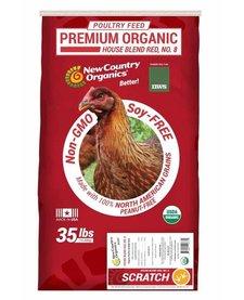 NWS Red Organic Scratch 35 lb