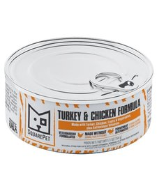 SquarePet Cat Turkey & Chicken 5.5 oz