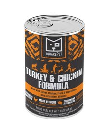 SquarePet Turkey & Chicken 13 oz