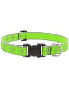 """Lupine Green Diamond 1in Collar 16""""-28"""""""