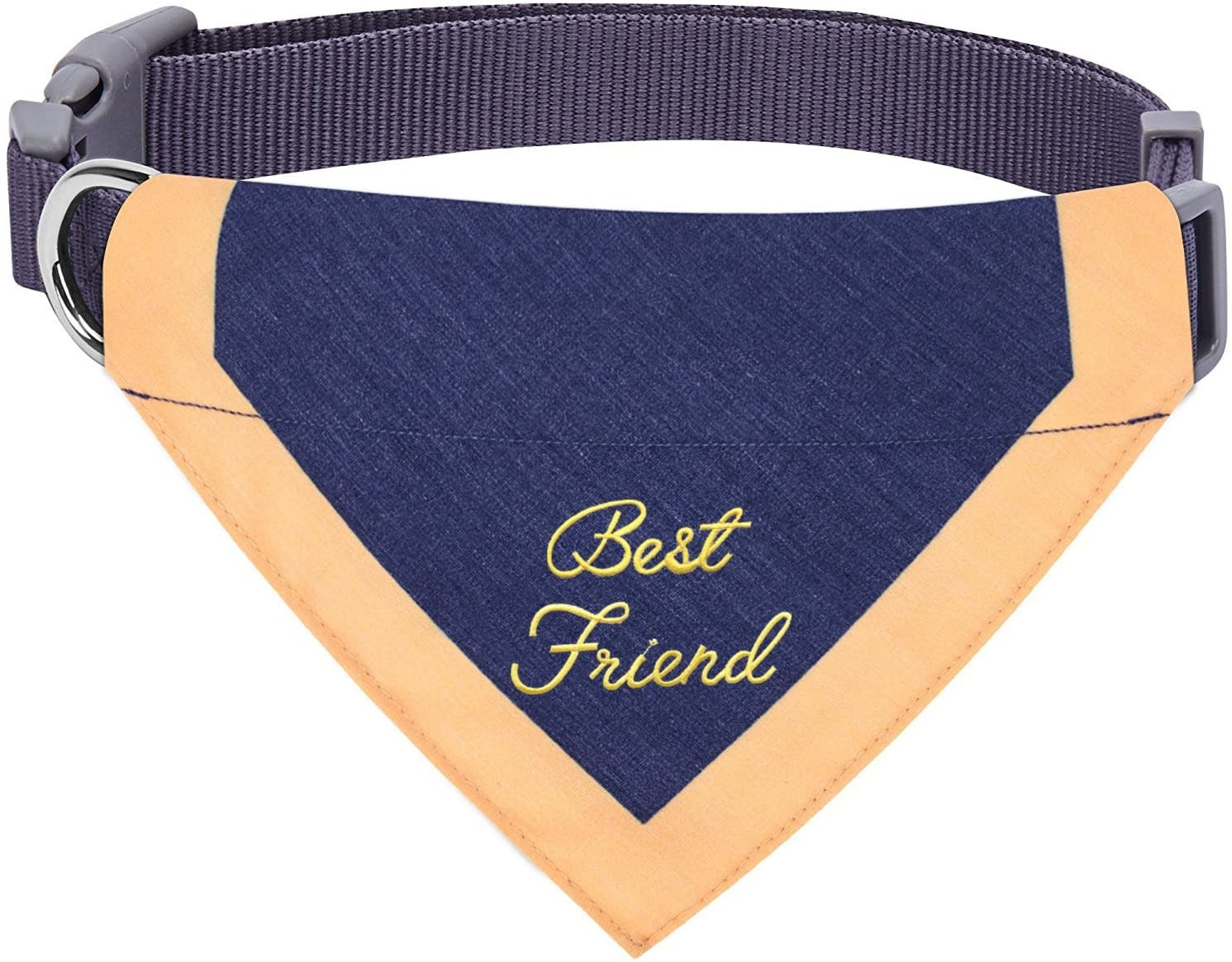 Blueberry Best Friends Bandana Blue-Small