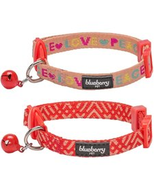 Love and Peace Collar 2 Pack